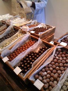 チョコ祭りスタート!